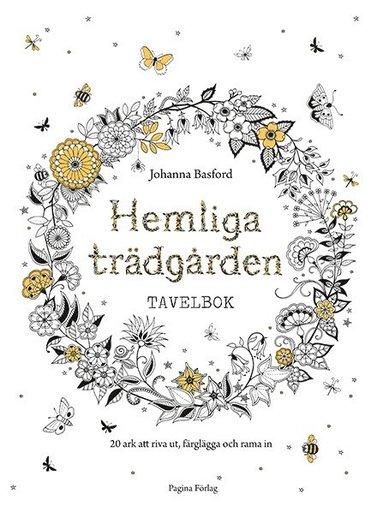 bokomslag Hemliga trädgården : tavelbok