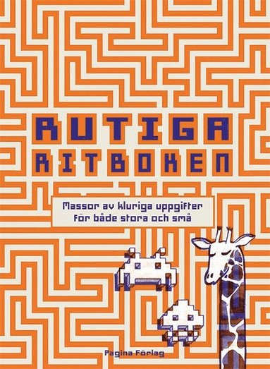 bokomslag Rutiga ritboken : massor av kluriga uppgifter för båda stora och små