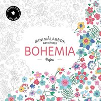 bokomslag Bohemia. Minimålarbok antistress