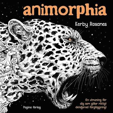 bokomslag Animorphia   målarbok