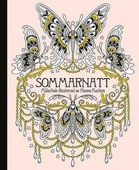 bokomslag Sommarnatt målarbok