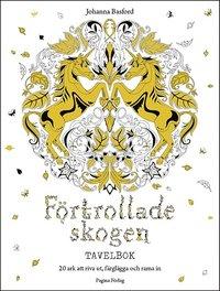bokomslag Förtrollade skogen : tavelbok
