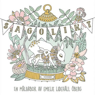 bokomslag Sagolikt - En målarbok