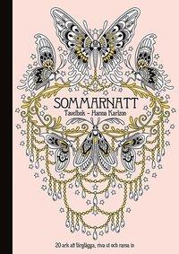 Sommarnatt : tavelbok 20 ark att färglägga, riva ut och rama in
