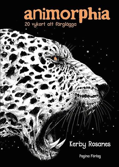 bokomslag Animorphia : 20 vykort att färglägga