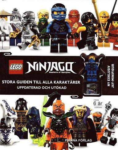 bokomslag LEGO Ninjago - Matser of Spinjitzu: Stora guiden till alla karaktärer