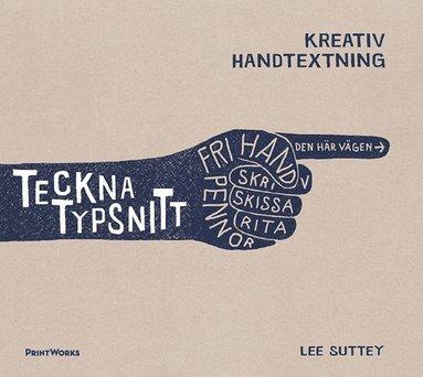 bokomslag Teckna typsnitt : kreativ handtextning
