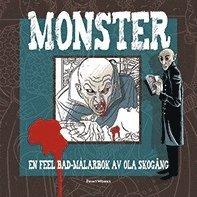 bokomslag Monster : en feel bad-målarbok