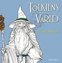 bokomslag Tolkiens värld : en målarbok