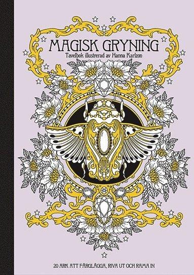 bokomslag Magisk gryning : tavelbok - 20 ark att färglägga, riva ut och rama in