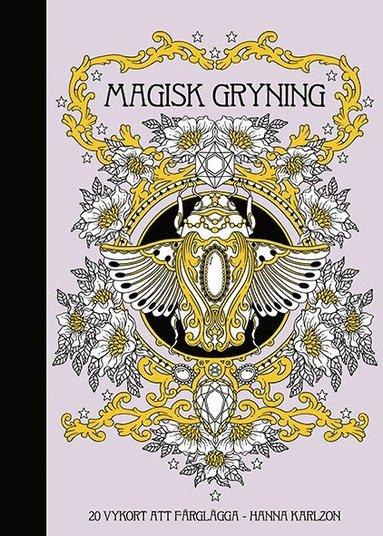 bokomslag Magisk gryning : 20 vykort att färglägga