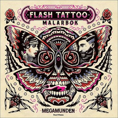 bokomslag Flash Tattoo målarbok