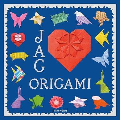 bokomslag Jag hjärtar origami