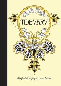 bokomslag Tidevarv : 20 vykort att färglägga