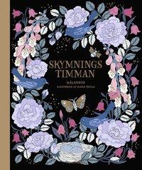 bokomslag Skymningstimman - målarbok