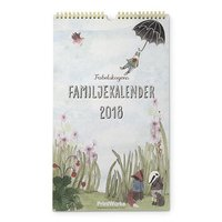 Väggkalender 2018 Familjekalender Fabelskogen