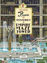 bokomslag Pusseldeckaren Pierre och mysteriet i Empire Maze Tower