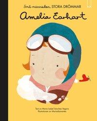bokomslag Små människor, stora drömmar. Amelia Earhart