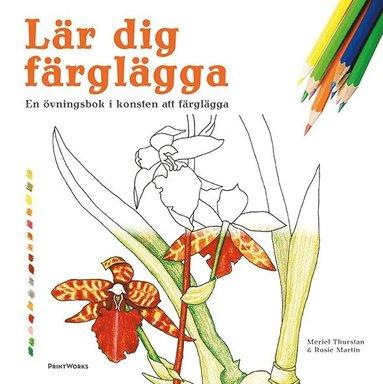 bokomslag Lär dig färglägga : en övningsbok i konsten att färglägga