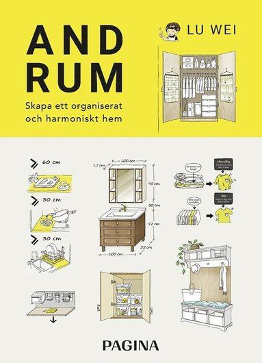 bokomslag Andrum : skapa ett organiserat och harmoniskt hem
