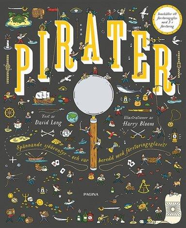 bokomslag Pirater : över 200 spännande saker att upptäcka
