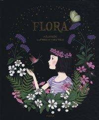 bokomslag Flora : målarbok