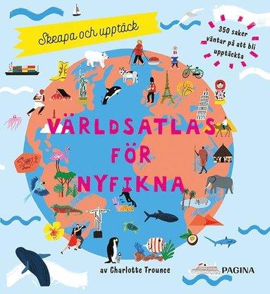 bokomslag Världsatlas : skrapa och upptäck