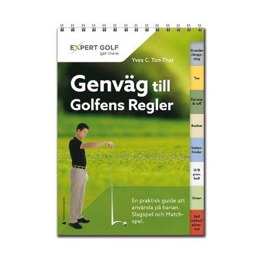 bokomslag Genväg till Golfens Regler, 2016-2019