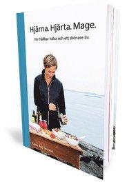 bokomslag Hjärna Hjärta Mage : för hållbar hälsa och ett skönare liv
