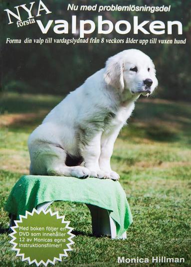 bokomslag Första valpboken : forma din valp med enkla metoder redan från 8 veckors ålder