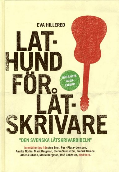 bokomslag Lathund för låtskrivare