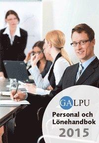 bokomslag GALPU Personal och lönehandbok 2015