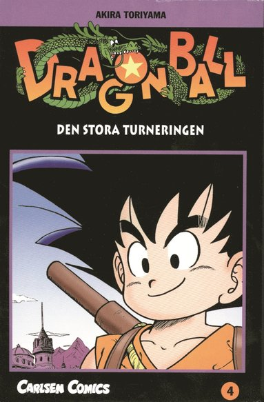 bokomslag Dragon Ball 04 : den stora turneringen