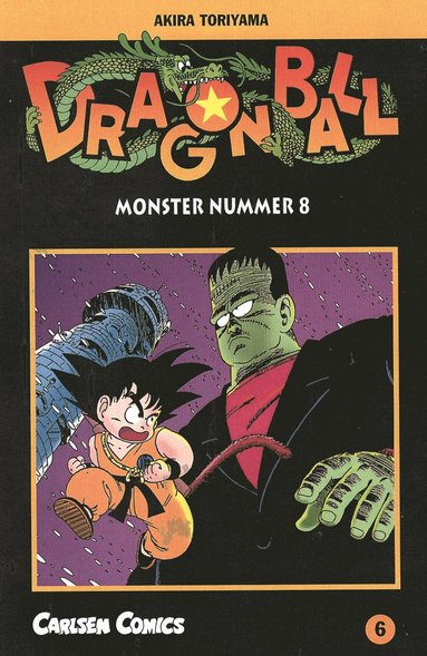 Dragon Ball 06 : monster nummer 8