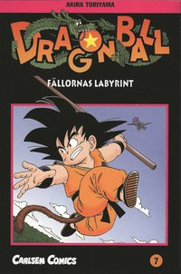 bokomslag Dragon Ball 07 : fällornas labyrint