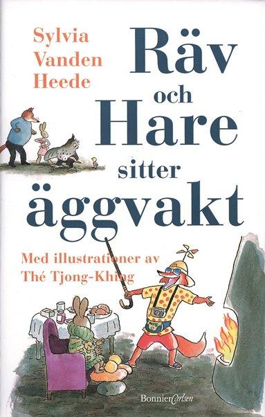 bokomslag Räv och Hare sitter äggvakt
