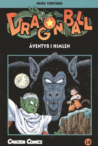 bokomslag Äventyr i himlen (Dragonball 18)