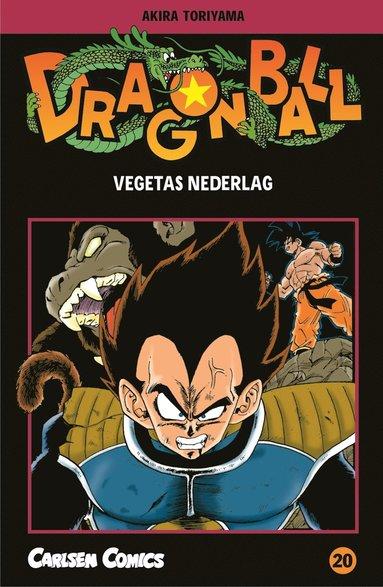 bokomslag Dragon Ball 20 : Vegetas nederlag