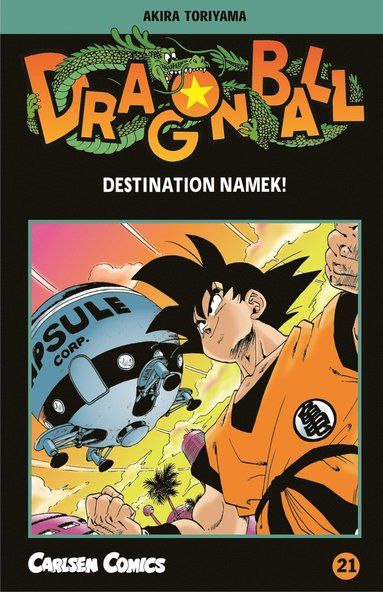 bokomslag Dragon Ball 21 : destination Namek!