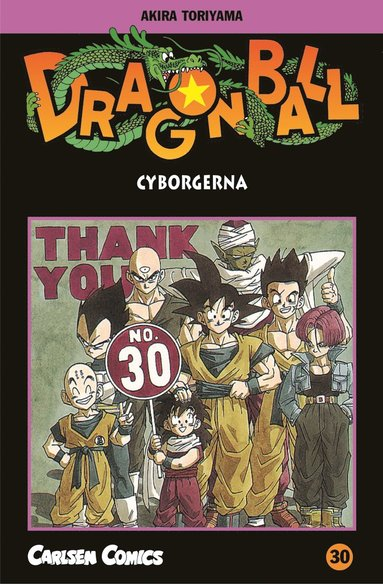 bokomslag Dragon Ball 30 : Cyborgerna