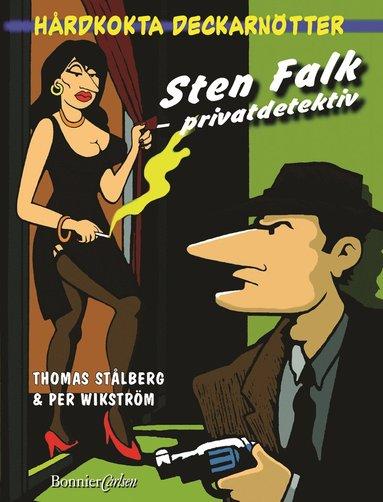 bokomslag Sten Falk - privatdetektiv : hårdkokta deckarnötter som du själv får lösa!