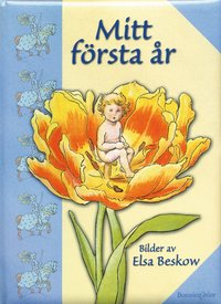 bokomslag Mitt första år, Blå