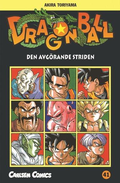 bokomslag Den avgörande striden (Dragonball 41)
