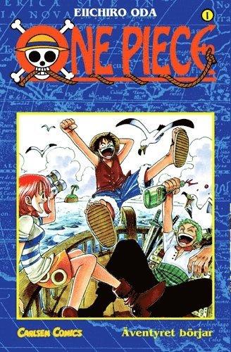 bokomslag One Piece 01 : Äventyret börjar