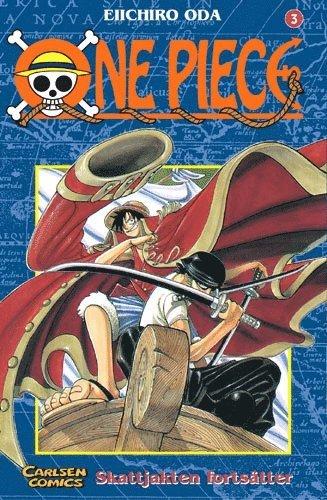 bokomslag One Piece 03 : Skattjakten fortsätter