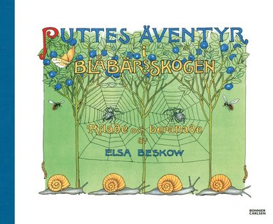 bokomslag Puttes äventyr i blåbärsskogen
