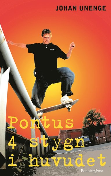 bokomslag Pontus 4 stygn i huvudet