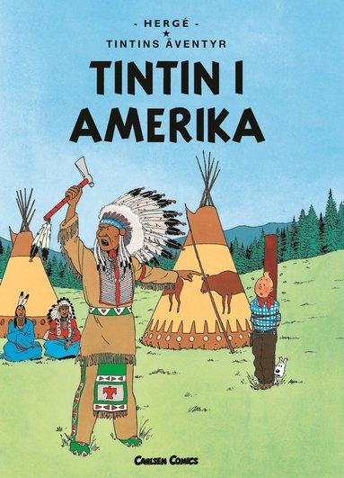 bokomslag Tintin i Amerika