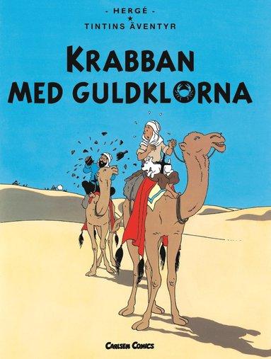 bokomslag Krabban med guldklorna