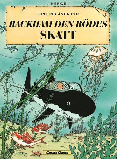 bokomslag Rackham den rödes skatt